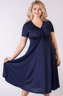 """Платье """"Стразы"""" Sparada (Тёмно-синий)"""