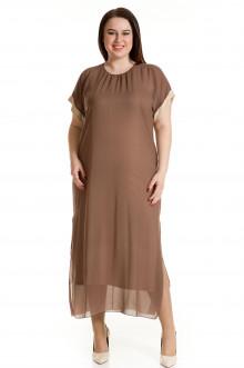 Платье 701 Luxury Plus (Коричневый)