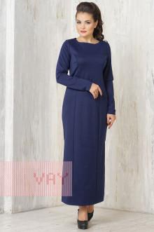 Платье женское 3327 Фемина (Синяя ночь)
