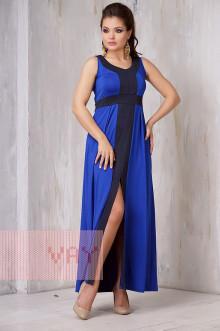 Платье женское 3305 Фемина (Василек/темно-синий)