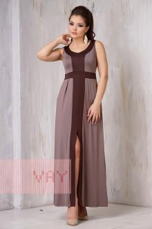 Платье женское 3305 Фемина (Латте/коричневый)