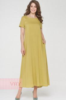 Платье женское 191-3486 Фемина (Цейлонский желтый)