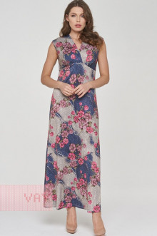 Платье женское 191-3509 Фемина (Армерия розовый)
