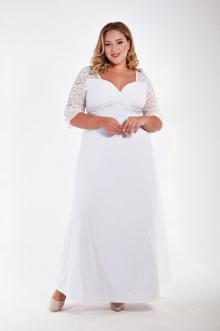 Платье 1213601 ЛаТэ (Белый)