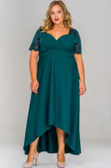 Платье 159404 ЛаТэ (Изумрудный)