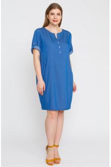 """Платье """"Лина"""" 5275 (Голубой)"""