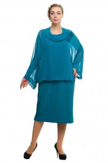 """Платье """"Олси"""" 1705018/2 ОЛСИ (Бирюза)"""