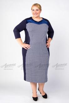 """Платье """"Артесса"""" PP00806DBL02 (Синий)"""