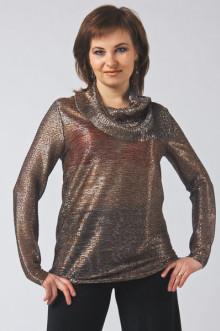 "Блуза ""СКС"" 3501 (Серебро)"