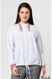 "Блуза ""Лина"" 4181 (Белый)"