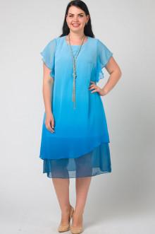 """Платье """"СКС"""" 2636/10 (Голубой)"""