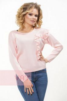 """Джемпер """"Фемина"""" 181-4723 (Бледно-розовый)"""