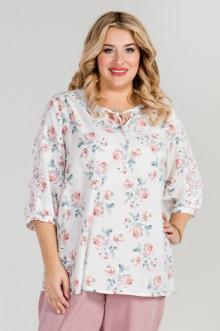 Блуза 887 Luxury Plus (Белый)