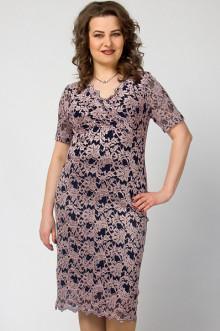 """Платье """"СКС"""" 2835 (Какао/синий)"""