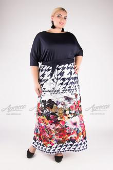 """Платье """"Артесса"""" PP20207BUT05 (Темно-синий)"""