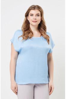 """Блуза """"Лина"""" 4137 (Голубой)"""