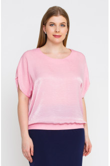 "Блуза ""Лина""4140 (Розовый)"
