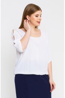 "Блуза ""Лина"" 4139 (Белый)"