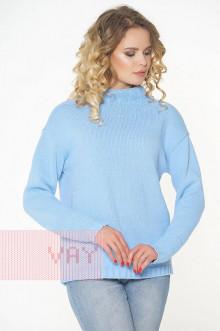 Джемпер женский 182-4670 Фемина (Светло-голубой)